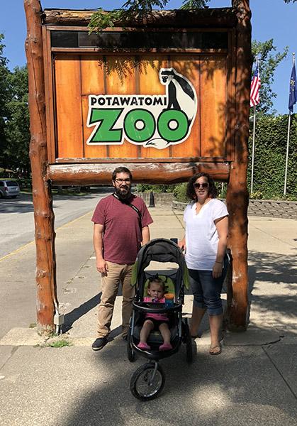 Family Pic at Zoo