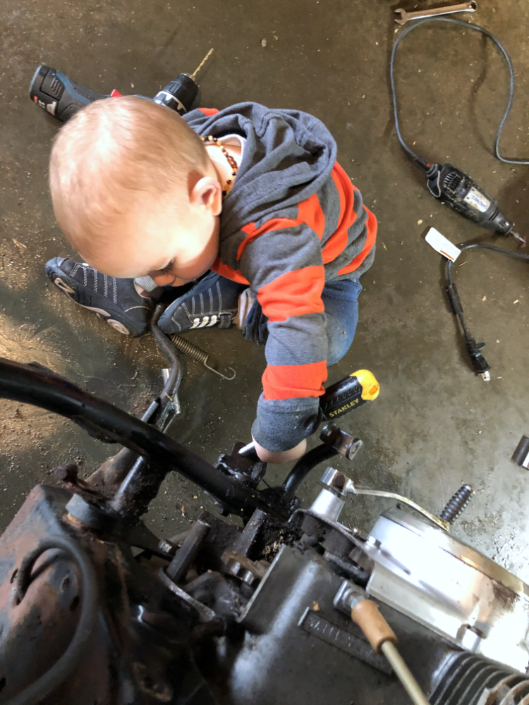 Elliot isn't a great mechanic but give him a couple years yet, he'll get there.