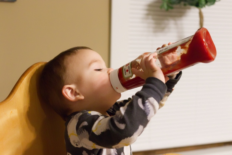 The Ketchup Conviction - Snader Family Blog